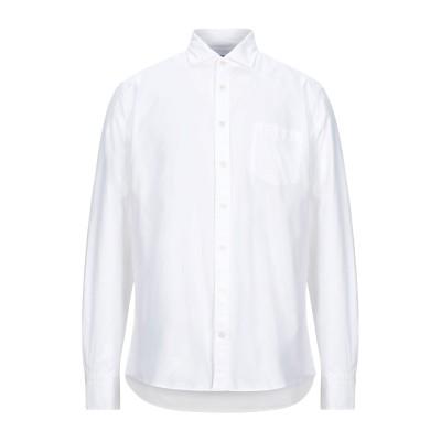 ハケット HACKETT シャツ ホワイト S コットン 100% シャツ