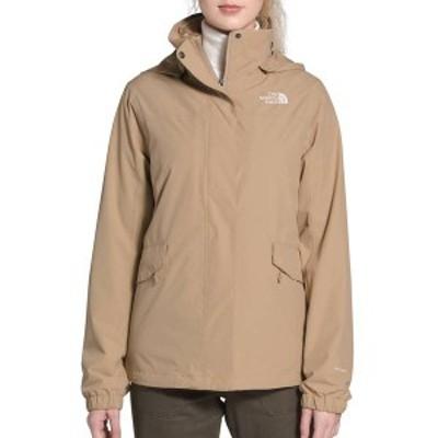 ノースフェイス レディース ジャケット・ブルゾン アウター The North Face Women's Osito Triclimate Rain Jacket Hawthorne Khaki