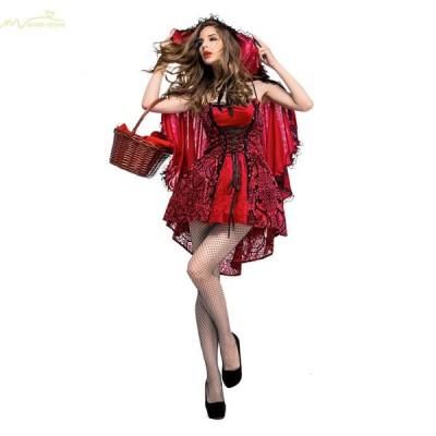ハロウィン用仮装 万聖節グッズ Halloween衣装 cosplay服 大人用 コスチューム コスプレ セットアップ イベント レースワンピース 舞台衣装 レディース