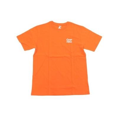 ポーラー(POLER) CAMP VIBES Tシャツ 55200045-ORG (メンズ)