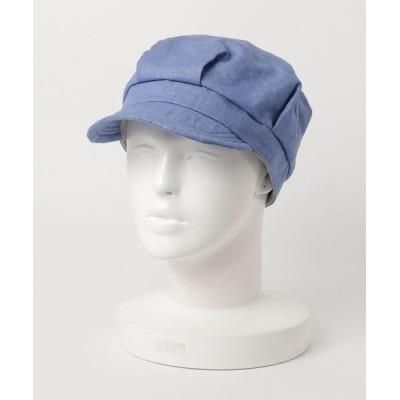 FUNALIVE / 【SI Original】French Linen WORK フレンチリネン無地マリンキャップ womens WOMEN 帽子 > キャスケット
