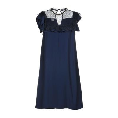 ピンコ PINKO ミニワンピース&ドレス ダークブルー 40 レーヨン 100% / ナイロン / ポリウレタン ミニワンピース&ドレス