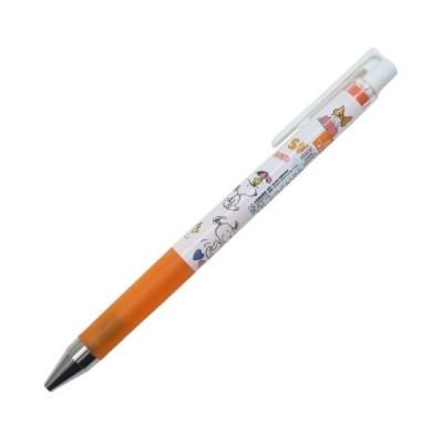 スヌーピー グッズ カラーゲル ボールペン ピーナッツ キャラクター JUICE UP 0.4mm オレンジ