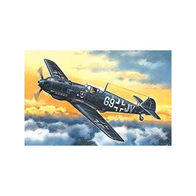 ICM 1/72スケール メッサーシュミット Bf 109E-4、第二次世界大戦ドイツナイトファイター - プラモデル組み立てキット # 72134