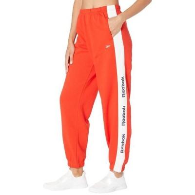 リーボック レディース カジュアルパンツ ボトムス Training Essentials Linear Logo Fleece Pants