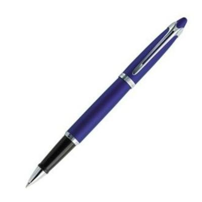 Waterman  Ici Et La  Blue & Silver Trim Ballpoint Pen New In Box