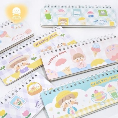 MO170 Molinta Weekly plan【阿卓周計劃】ノート / schedule スケジュール 3種