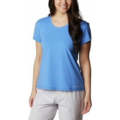 コロンビア シャツ トップス レディース Columbia Women's Sun Trek T-Shirt HarborBlue