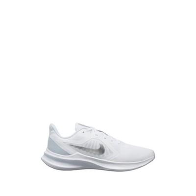 ナイキ レディース スニーカー シューズ Downshifter 10 Sneaker 100 WHITE/M SILV
