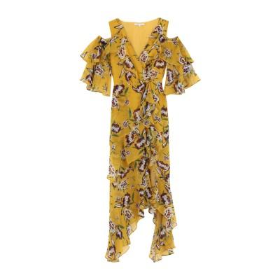KORALLINE 7分丈ワンピース・ドレス オークル 42 ポリエステル 100% 7分丈ワンピース・ドレス