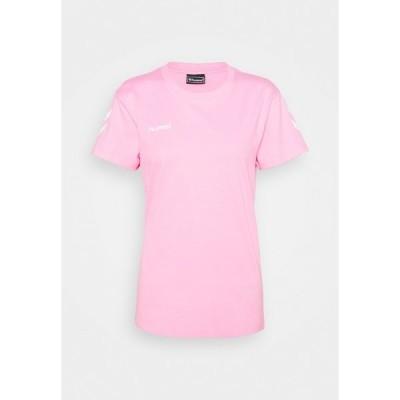 ヒュンメル Tシャツ レディース トップス GO WOMAN - Print T-shirt - candy
