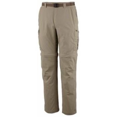 columbia コロンビア アウトドア 男性用ウェア ズボン columbia silver-ridge-convertible-big-pants-regular-tusk