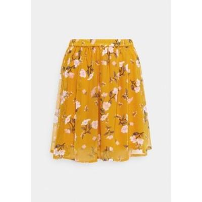 ヴェロモーダ レディース スカート ボトムス VMZALLIE SHORT SKIRT - Mini skirt - chai tea/zallie chai tea/zallie