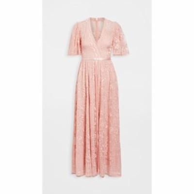 ニードル アンド スレッド Needle and Thread レディース パーティードレス ワンピース・ドレス Trudy Belle Ankle Length Gown Desert P