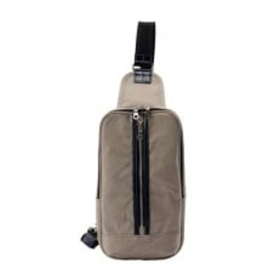 豊岡鞄 直帆布ワンショルダー(ライトグレー)