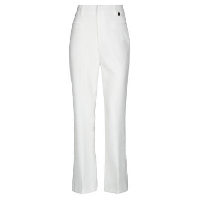 MANGANO パンツ ホワイト S ポリエステル 95% / ポリウレタン 5% パンツ