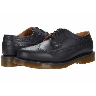 ドクターマーチン オックスフォード シューズ メンズ 3989 Smooth Leather Brogue Black Smooth