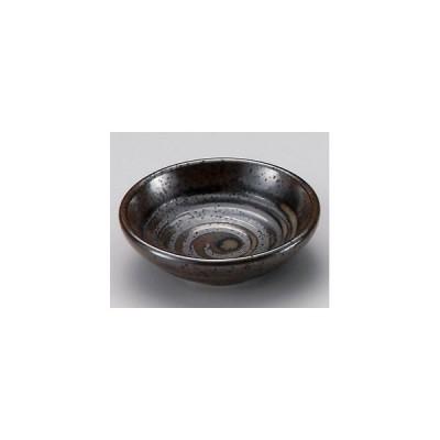 業務用小皿・伊賀渦黒2.5皿(8.3cm)