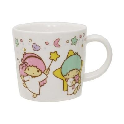 マグカップ 磁器製 マグS スタードリーム リトルツインスターズ キキ&ララ サンリオ 金正陶器 日本製 ギフト雑貨