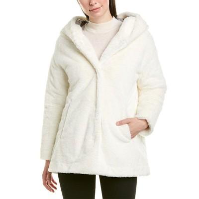 ヘルノ コート アウター レディース Herno Plush Coat white