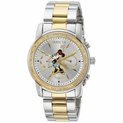 腕時計 Invicta Women 's ' Disney Limited Edition ' Quartz Metal andステンレススチールCasual Watch, Color : silver-toned (モデル: