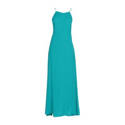 LES PETITES... ロングワンピース&ドレス エメラルドグリーン L レーヨン 100% ロングワンピース&ドレス