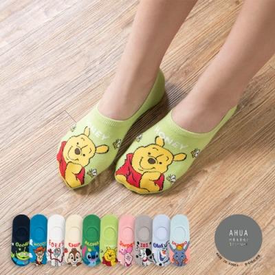 阿華有事嗎  韓國襪子 迪士尼人物字母隱形襪   韓妞必備 正韓百搭純棉襪