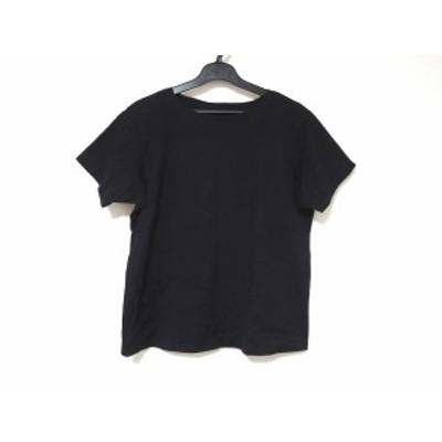ヨーガンレール JURGEN LEHL 半袖Tシャツ サイズM レディース 美品 - 黒 クルーネック【中古】20210114