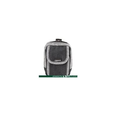 腰袋 TRUSCO トラスコ中山 デニム携帯電話用ケース 2ポケット ブラック [TDC-H102] TDCH102 販売単位:1