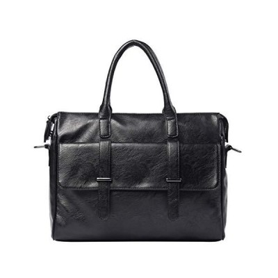 ZHAOTARPS Briefcases, Leather Men's Handbag Laptop Bag One-Shoulder Crossbody Postman Leisure Travel Men's Bag【並行輸入品】