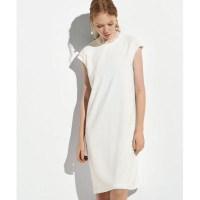 EPOCA/エポカ ストレッチクロスサックドレス ホワイト1 40