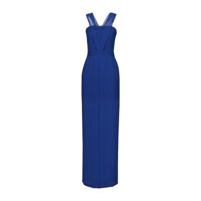 HH COUTURE ロングワンピース&ドレス ダークブルー L ポリエステル 100% ロングワンピース&ドレス