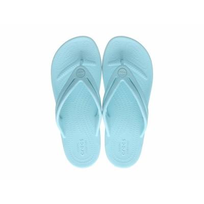クロックス サンダル シューズ レディース Crocband Flip-Flop Ice Blue