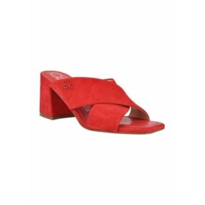 カルバンクライン レディース パンプス シューズ CISHA XBand Sandals MRESU