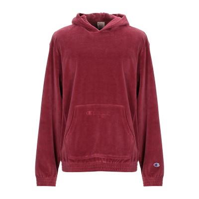 CHAMPION REVERSE WEAVE スウェットシャツ ガーネット S コットン 80% / ポリエステル 20% スウェットシャツ