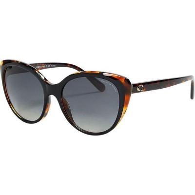 コーチ COACH レディース メガネ・サングラス hc8260 l1060 sunglasses Dark brown
