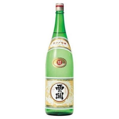 西の関 特別本醸造 特撰 1.8L 1800ml x 6本 (ケース販売) (萱島酒造/大分県/OKN)