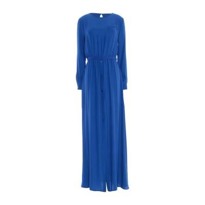 ゴータ GOTHA ロングワンピース&ドレス ブライトブルー 42 アセテート 80% / シルク 20% ロングワンピース&ドレス