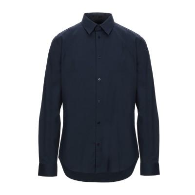 MARCIANO シャツ ダークブルー 38 コットン 97% / ポリウレタン 3% シャツ