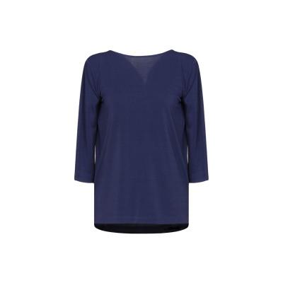 MARCIANO T シャツ ダークブルー 42 ポリエステル 96% / ポリウレタン 4% T シャツ