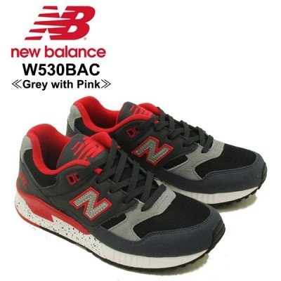 ニュー バランス New Balance  W530 530 ランニング スニーカー  W530BAC Grey with Pink シューズ レディース 女性用[CC]
