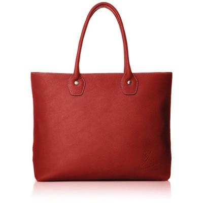 [キタムラ] トートバッグ スケッチブック B4サイズ対応 Y-0681 ビジネスバッグ A4サイズ対応 A4対応 レッド/アイボリーステッチ [赤] 70912