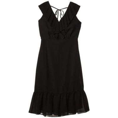 サムエデルマン レディース ワンピース トップス Mini Pleat Neckline Dress
