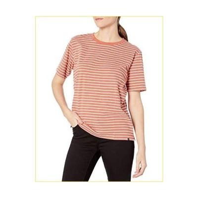 Pendleton レディース 半袖 Deschute ストライプTシャツ US サイズ: Small カラー: オレンジ