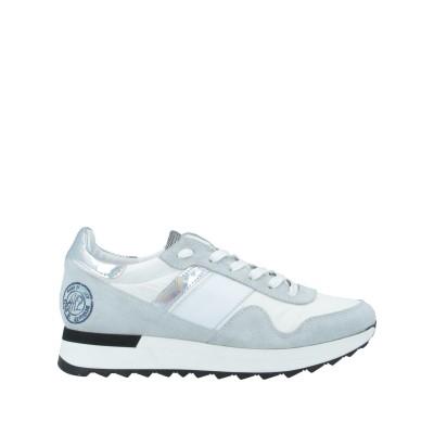 QUATTROBARRADODICI スニーカー&テニスシューズ(ローカット) ホワイト 36 革 / 紡績繊維 スニーカー&テニスシューズ(ローカ