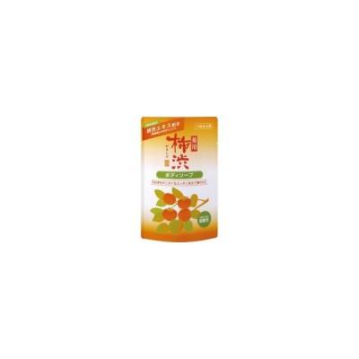 熊野油脂 薬用柿渋ボディソープ 詰替用 350ml 1パック
