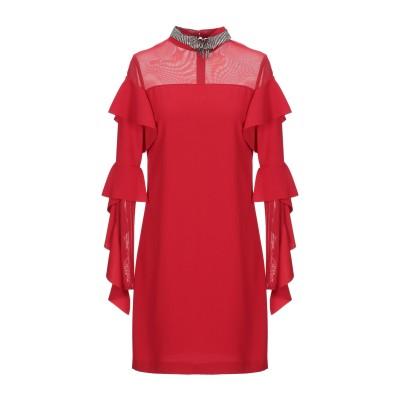 ピンコ PINKO ミニワンピース&ドレス レッド 36 100% ポリエステル ナイロン ポリウレタン ミニワンピース&ドレス
