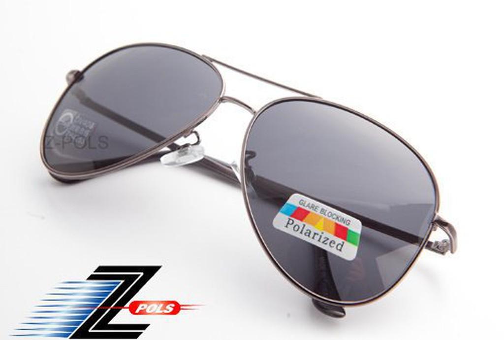 ☆Z-POLS 金屬質感設計款☆名牌風格設計 復古款 寶麗來偏光 太陽眼鏡,全新上市!