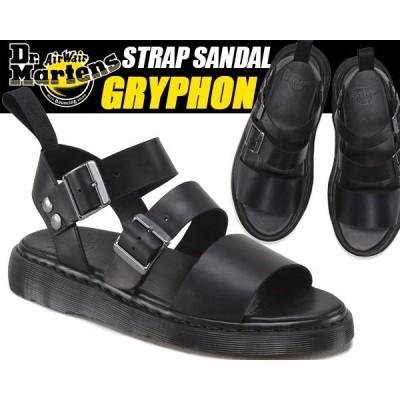 Dr.Martens GRYPHON STRAP SANDAL blk 15695001 ドクターマーチン サンダル グラディエーター ストラップ