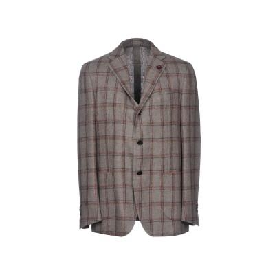 ラルディーニ LARDINI テーラードジャケット 鉛色 46 ウール 72% / ナイロン 25% / ポリウレタン 3% テーラードジャケット